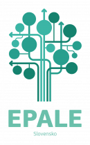 EPALE NSS - Wordmark and Tree_Slovak Republic